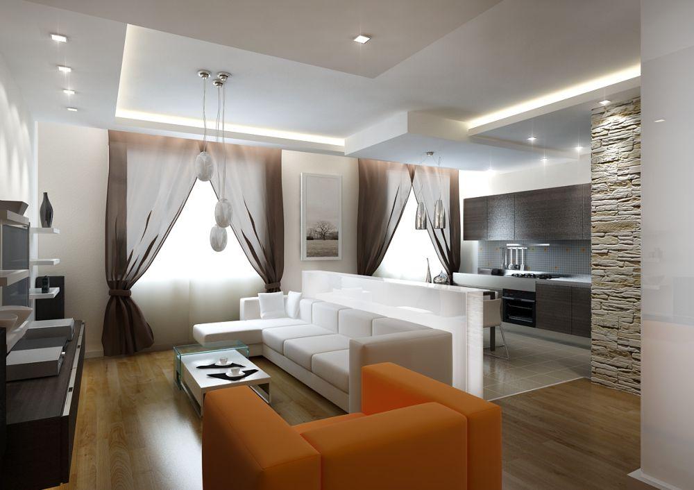 Дизайн и интерьер гостинной фото
